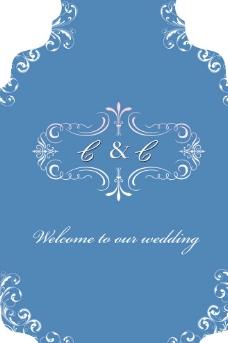 婚礼欢迎牌图片