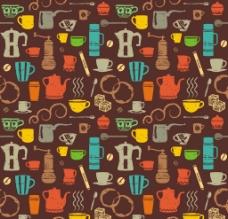 咖啡用品壁纸素材图片