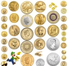 金币素材图片