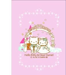 kitty婚礼图片