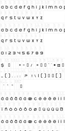 swatch字体