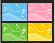 气泡背景图图片