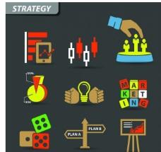 业务营销图标图片