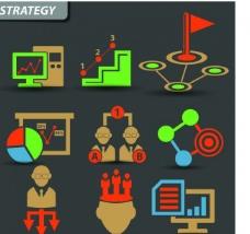 策略营销图标图片