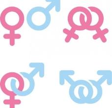 男女图标图片