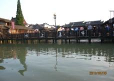 水上集市图片