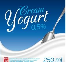 动感牛奶背景图片