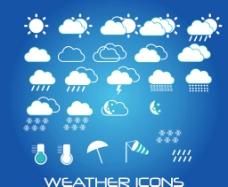 天气预报气象标志图片