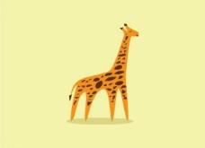 长颈鹿logo图片