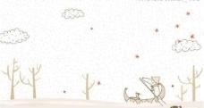 淡雅插画16-16图片