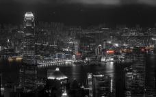 都市黑夜背景