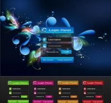 網頁面設計網站ui圖片
