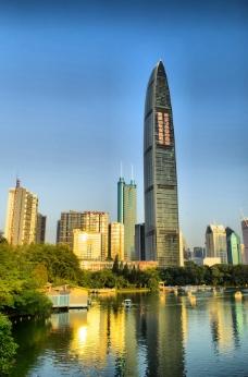 深圳京基100大楼图片