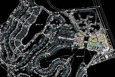 南京山庄规划总平方案图片