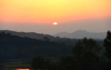 黄昏美景图片