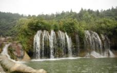 瀑布 小瀑布图片