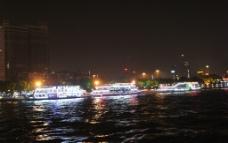夜游珠江图片