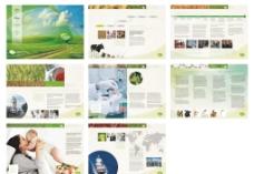 国外农牧行业画册设计图片