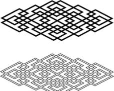 蒙古花纹图片