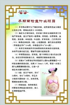 孕期需检查项目图片