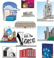 建筑素材图片