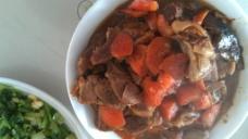 羊肉炖胡萝卜图片