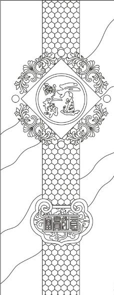 蜂巢形状背景素材图片