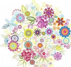 彩色花卉图片