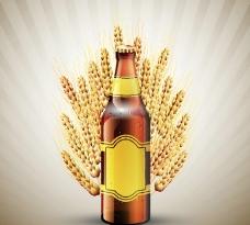 啤酒广告海报图片