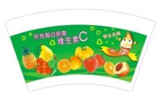 水果纸杯设计图片