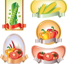 蔬菜标签图片