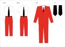 男性职场服装设计
