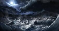 风暴背景图片