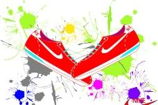 鞋子矢量图图片