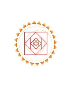 太阳花logo图片