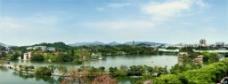 惠州西湖油画效果图片