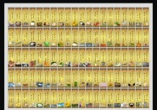 食堂文化标语大全图片