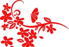 花 蝴蝶图片