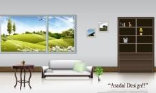 室内设计分层素材图片