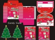 圣诞节 糖果 包装图片