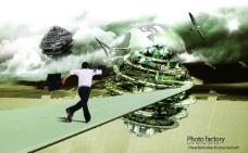 科幻城市图片