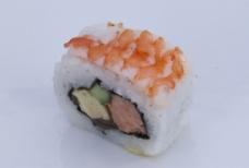 寿司 虾 美食图片