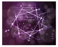 紫色星光背景