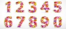 时尚花纹花朵鲜花数字图片