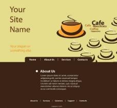咖啡网站设计图片