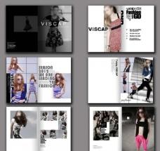 时尚品牌女装画册图片