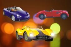 卡通汽车海报图片