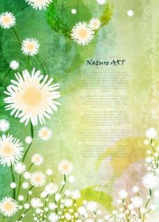 绿色 自然 花朵 梦幻花朵图片
