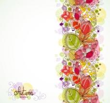 树叶花纹底纹图片