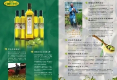 橄榄油单页图片